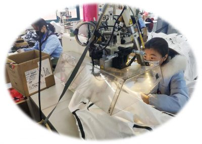 Mass production of PPE materials