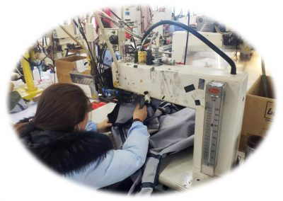 Production of safety goggles